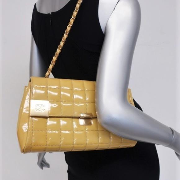 CHANEL Handbags - Chanel Chocolate Bar East West  Bag